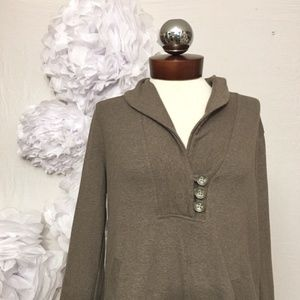 BANANA REPUBLIC cowl neck pullover sweatshirt